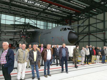 Visit at Air Transport Wing 62 Wunstorf